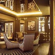 Un bar à champagne signé Collet au Hilton