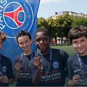 Jeunesse et solidarité à l'honneur avec la fondation PSG