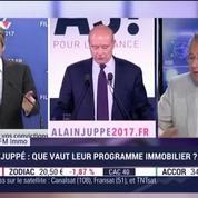 La presse immobilière : le programme immobilier de François Fillon et Alain Juppé