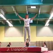 J'ai testé le trampoline !