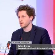 «Marine Le Pen ne veut pas répondre de ses actes, c'est disqualifiant», estime Julien Bayou