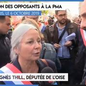 Manifestation contre la PMA : «La majorité bâillonne ceux qui s'opposent à cette loi» (Agnès Thill)