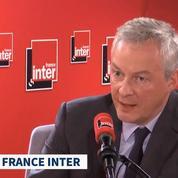 Bruno Le Maire : «Nous n'abandonnerons jamais» la taxe GAFA