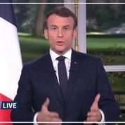 Retraites: «La réforme sera menée à son terme» affirme Macron lors de ses vœux