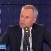François de Rugy : «J'ai identifié une vengeance politique de mon ancien parti»