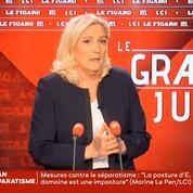 Réforme des retraites: un éventuel recours au 49.3 «choque» Marine Le Pen