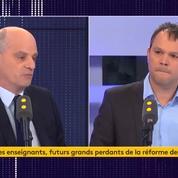 Blanquer annonce «850 millions de pouvoir d'achat» supplémentaire dans le budget 2020 de l'éducation