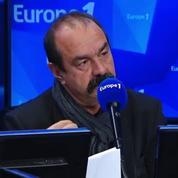 Grève SNCF: Martinez justifie l'utilisation du droit de retrait