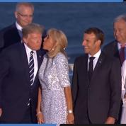 Les dirigeants du G7 se réunissent pour la photo de famille officielle