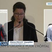Crise à l'hôpital : les primes du gouvernement jugées insuffisantes