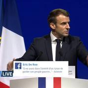 Congrès des maires: le discours d'Emmanuel Macron