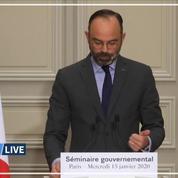 Séminaire gouvernemental: le compte-rendu d'Édouard Philippe