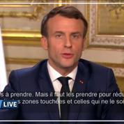 Macron appelle à ne pas céder «au repli nationaliste» car le virus «n'a pas de passeport»