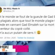 Non Stop People - Gad Elmaleh moqué sur Twitter après la mort de l'inventeur du copier/coller