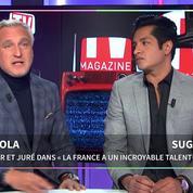 David Ginola et Sugar Sammy : «Nous n'avons pas été surpris par le succès de Jean-Baptiste Guégan»