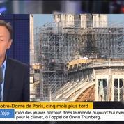 Notre-Dame : «Il y aura peut-être un acte architectural contemporain sur le parvis», annonce Stéphane Bern