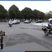 Le trajet du corbillard transportant Jacques Chirac jusqu'aux Invalides