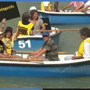 Madrid : manifestation pour demander un «port sûr» pour les migrants de l'Open Arms et du Ocean Viking
