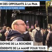 Manifestation contre la PMA : Ludovine de la Rochère prononce un discours