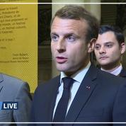 Incendie Lubrizol : «Premières indemnisations dans les prochains jours» annonce Emmanuel Macron