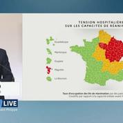 Olivier Véran présente les cartes définitives du déconfinement en France