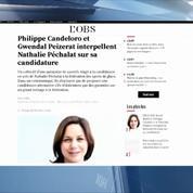 Non Stop People - Nathalie Péchalat : Sarah Abitbol, Gwendal Peizerat… mitigés sur sa candidature