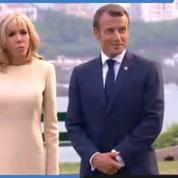 Revivez l'accueil des différents leaders du G7 par le couple Macron