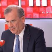 Taux négatifs : «Il n'est pas question qu'ils s'appliquent aux particuliers ou aux PME» assure le gouverneur de la Banque de France