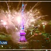 Nouvel An: la Nouvelle-Zélande entre en 2020