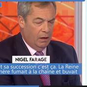 Royaume-Uni: Nigel Farage s'en prend violemment à la famille royale