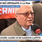 Manifestation contre la PMA : «La PMA est un enchaînement qui va nous mener au transhumanisme» (Jacques Myard)