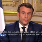 Coronavirus: Macron annonce la fermeture des établissements scolaires dès lundi