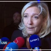 Retraites: «La réforme ne fera que des perdants», estime Marine Le Pen