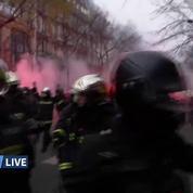Grève du 5 décembre: violences en cours à Paris