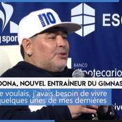 Diego Maradona : la légende argentine passe au poste d'entraîneur