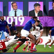 France - USA : débrief mi-temps