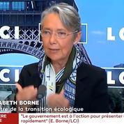 Carburant: «Nous avons des stocks», rassure Elisabeth Borne