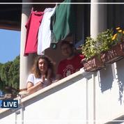 Des Romains chantent «Bella Ciao» depuis leurs fenêtres pour le jour de la Libération