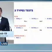 Coronavirus: 5 millions de tests rapides ont été commandés par la France