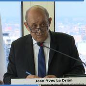 Iran/États-Unis : Le Drian veut reprendre le «processus de désescalade»