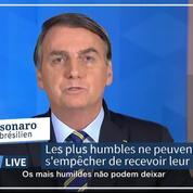«Tout le monde doit être en phase avec moi»: Bolsonaro défend sa position anti-confinement