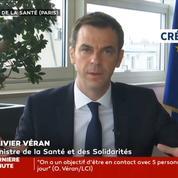 Olivier Véran: les 27 départements les plus touchés ont reçu des masques FFP2 et chirurgicaux
