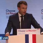 Revivez le discours d'Emmanuel Macron à la Réunion