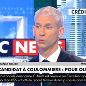 Municipales: Franck Riester restera au gouvernement s'il est élu à Coulommiers