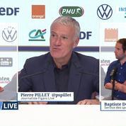 Equipe de France: les 23 sélectionnés pour la Moldavie et l'Albanie