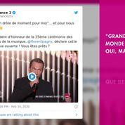 Non Stop People - Victoires de la musique 2020 : Florent Pagny corrige la bourde de Marie-Sophie Lacarrau