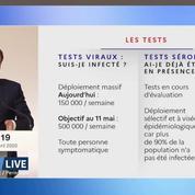 Olivier Véran annonce une stratégie de tests massive pour le déconfinement