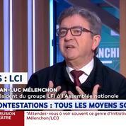 Jean-Luc Mélenchon appelle à ne pas «dramatiser» les violences