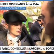 Manifestation contre la PMA : «Il y a un peu trop d'unité chez les LR sur ce genre de sujet» (Édouard du Parc)