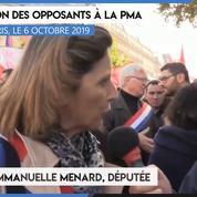 Manifestation contre la PMA : « La PMA pose les bases de la GPA et de la multiparentalité » (Emmanuelle Menard)